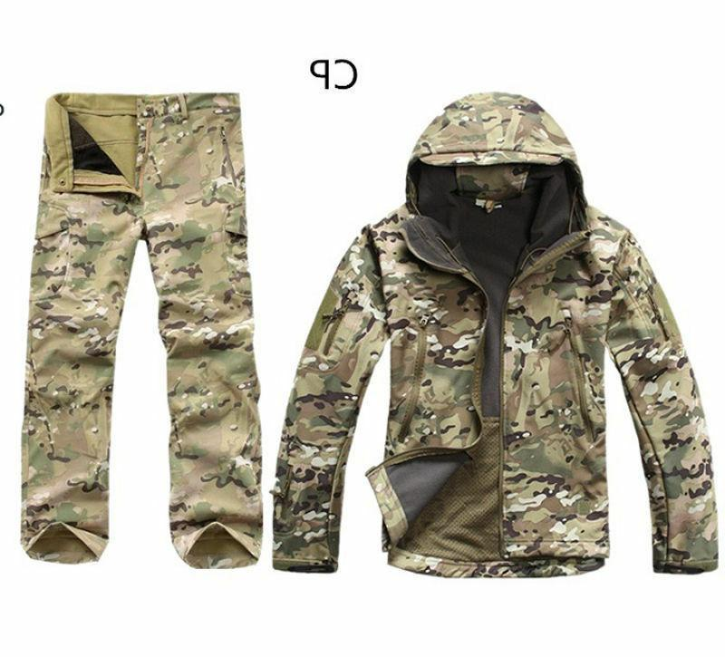 2PCS New Outdoor Winter Hunting Jacket +pants
