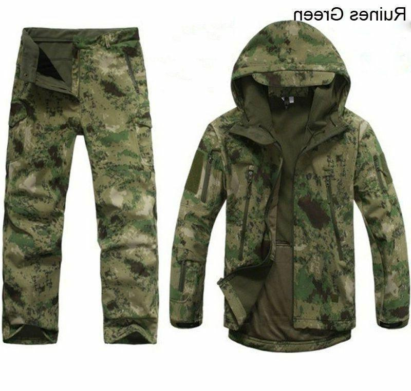 2pcs new outdoor winter hunting mens jacket