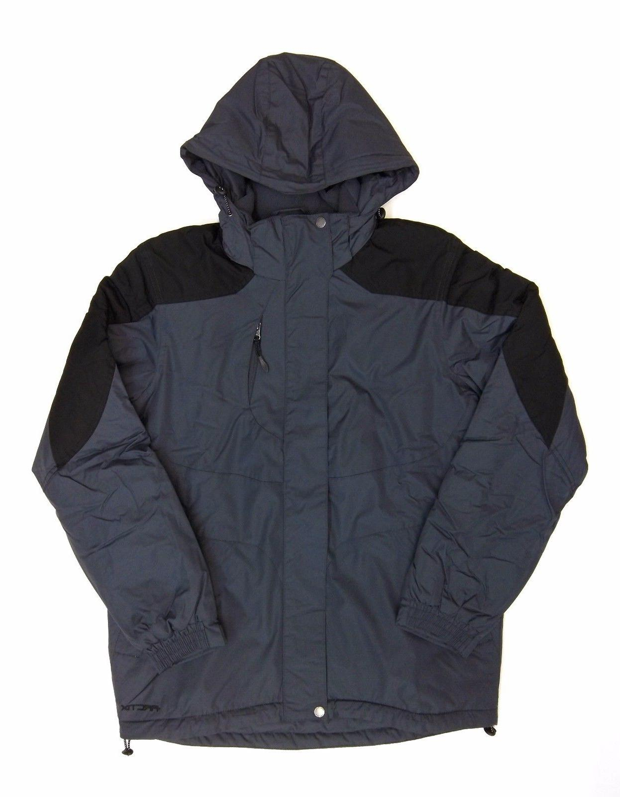 Arctix Mens Gotham Insulated Jacket Charcoal