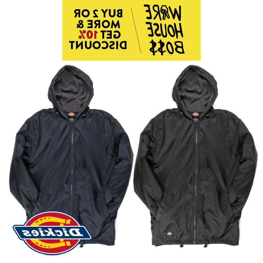 DICKIES 76242 HOODED WINDBREAKER JACKET HOODIE RAIN COAT WAT
