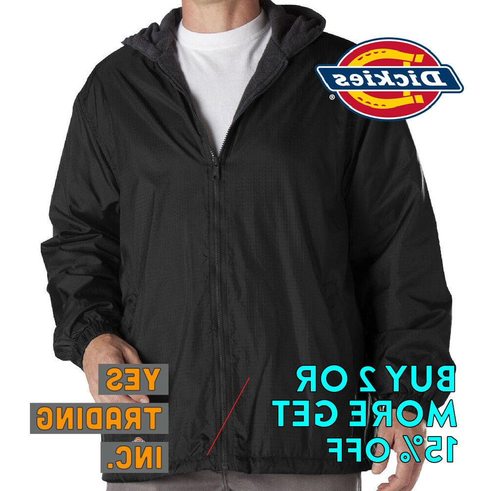 DICKIES WINDBREAKER WATERPROOF HOODED JACKET MENS JACKET RAI