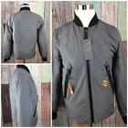 NWT Champion Mens Jacket Woven Bomber Wind Water Resistant S