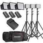 Neewer 3x 160 LED light kit Dimmable Panel Digital Camera/Ca
