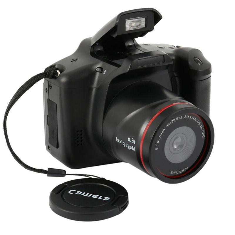 Professional Display 16X Zoom HD 16MP 1080P Digital Camera V