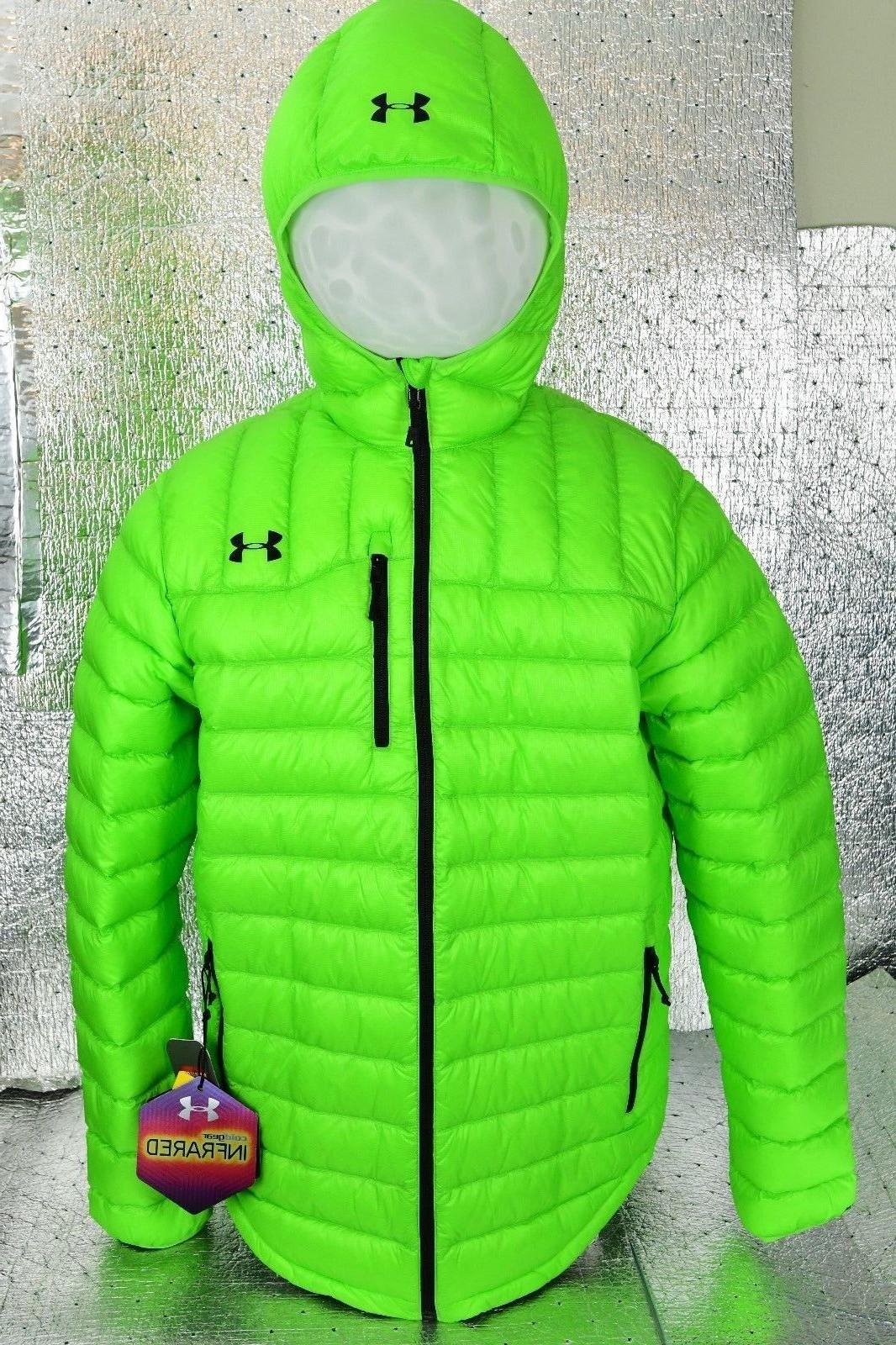 Under Armour Mens Storm ColdGear Infrared Turing Hooded Down