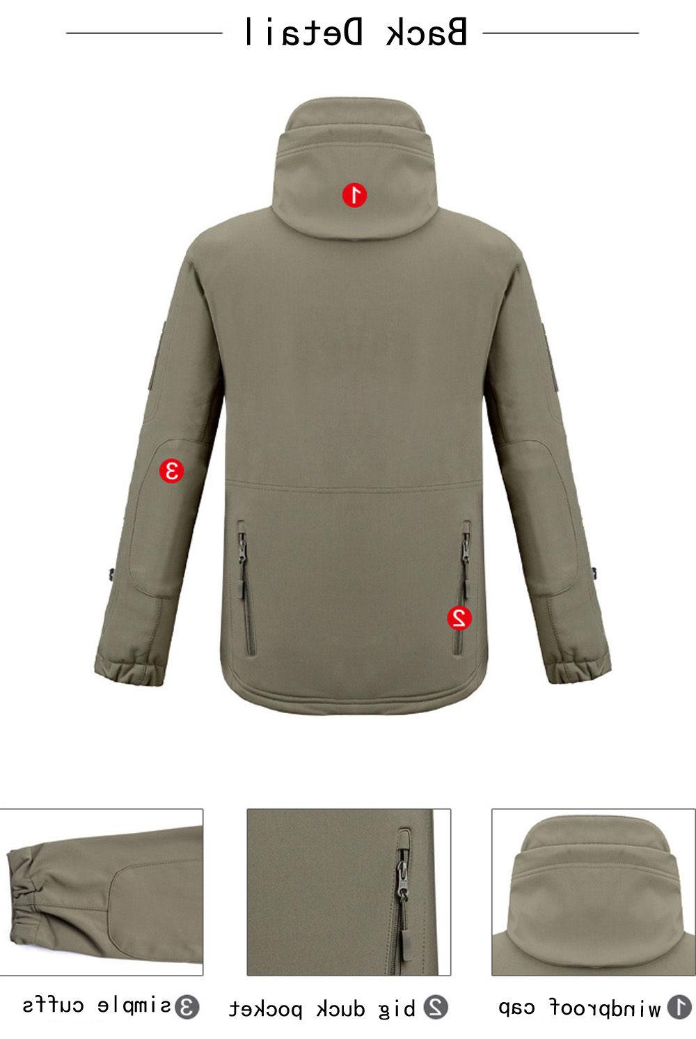 Waterproof Tactical Soft Shell Military