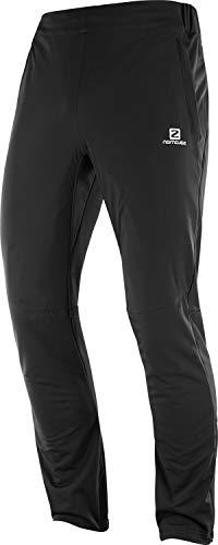 Salomon Men's Agile Warm Pant , Black, Small