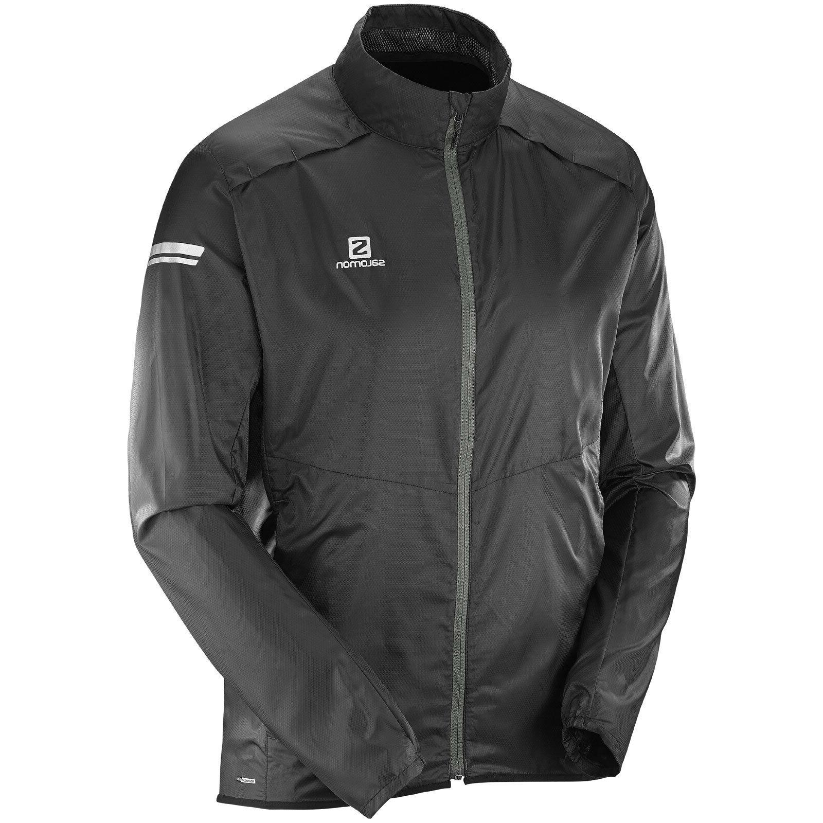 Salomon Agile Wind Jacket Men's Windbreaker Outdoor Running