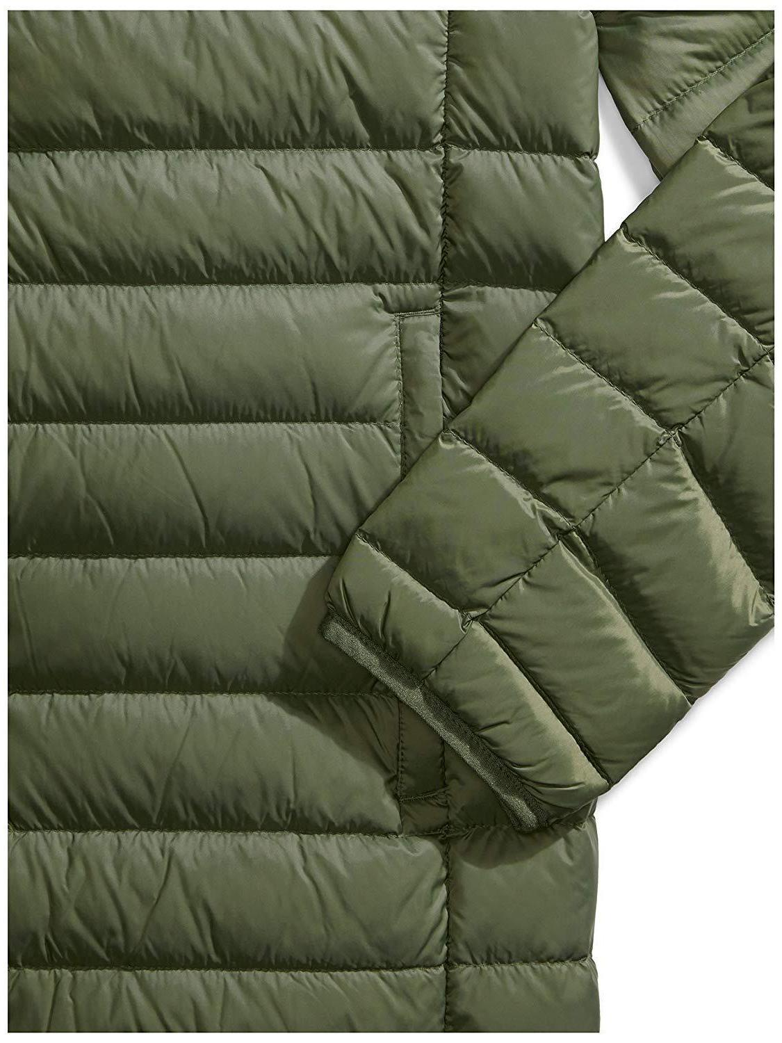 Amazon Water-Resistant Packable Hooded Jacket