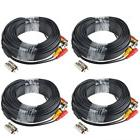 EWETON 4 Pack 60 Feet BNC Video Power Cable Security Camera