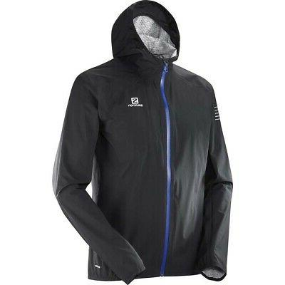 Salomon Bonatti Waterproof Mens Jacket - Black