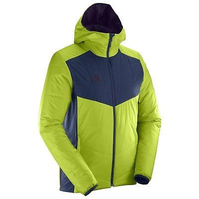 Salomon Drifter Mid Hoodie Men's Primaloft Puffy Jacket - Ac