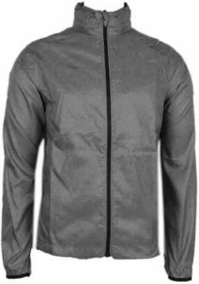 electro jacket athletic running outerwear grey mens