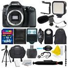 Canon EOS 80D Digital SLR Camera + 64GB Complete Great Value