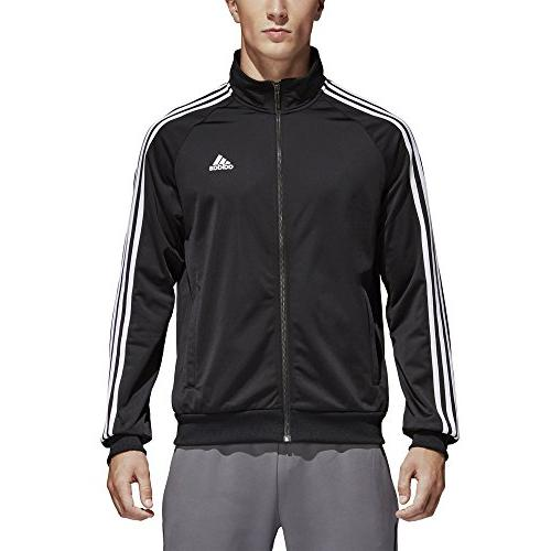 adidas Tricot Jacket, Black/White, Small