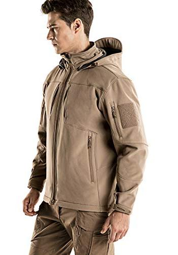 CQR Softshell Hoodie Hunting EDC Lightweight Coat