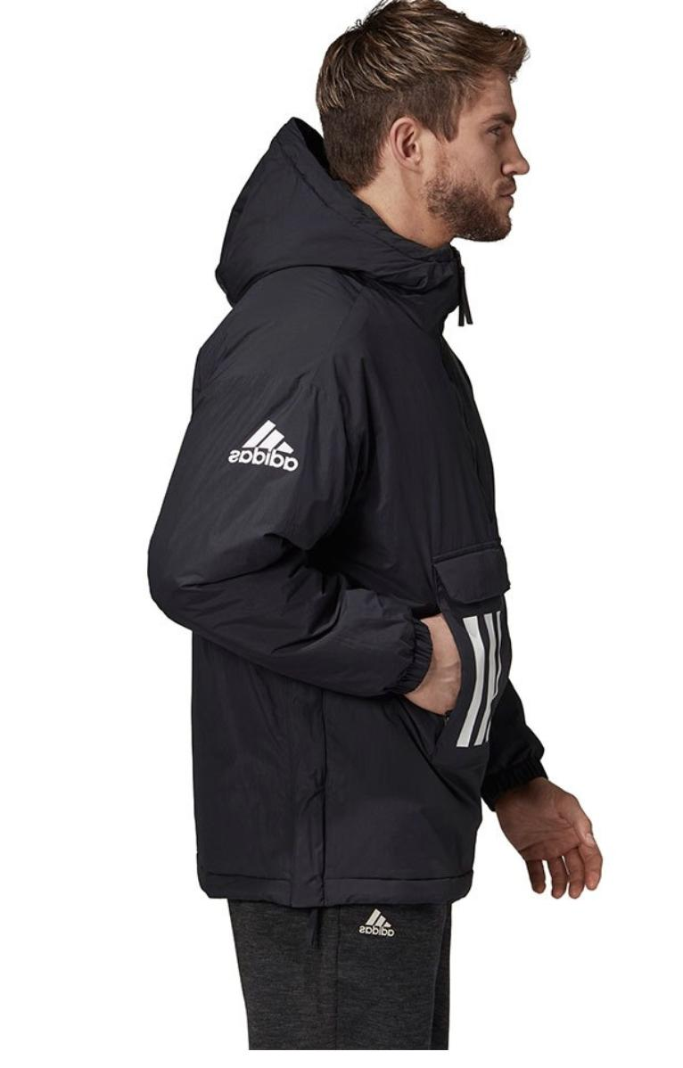 Insulated Outdoor Thermal Jacket - - ADIDAS - Black - Size Medium
