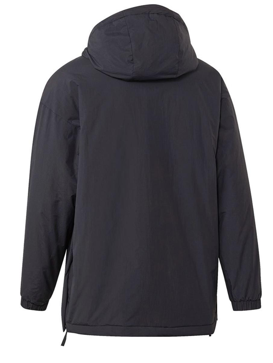 Insulated Anorak Outdoor Jacket MENS ADIDAS - Black Size