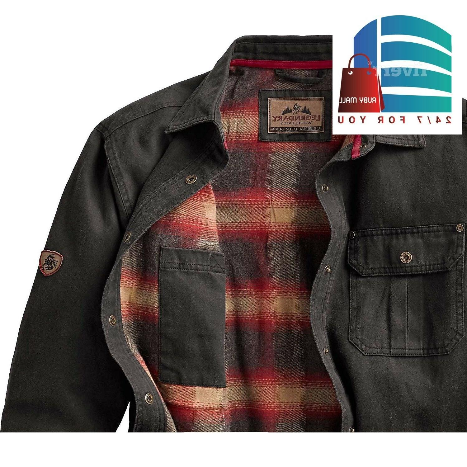 Legendary Journeyman Shirt Jacket Tarmac Lined