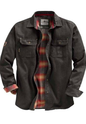 journeyman shirt jacket flannel lined