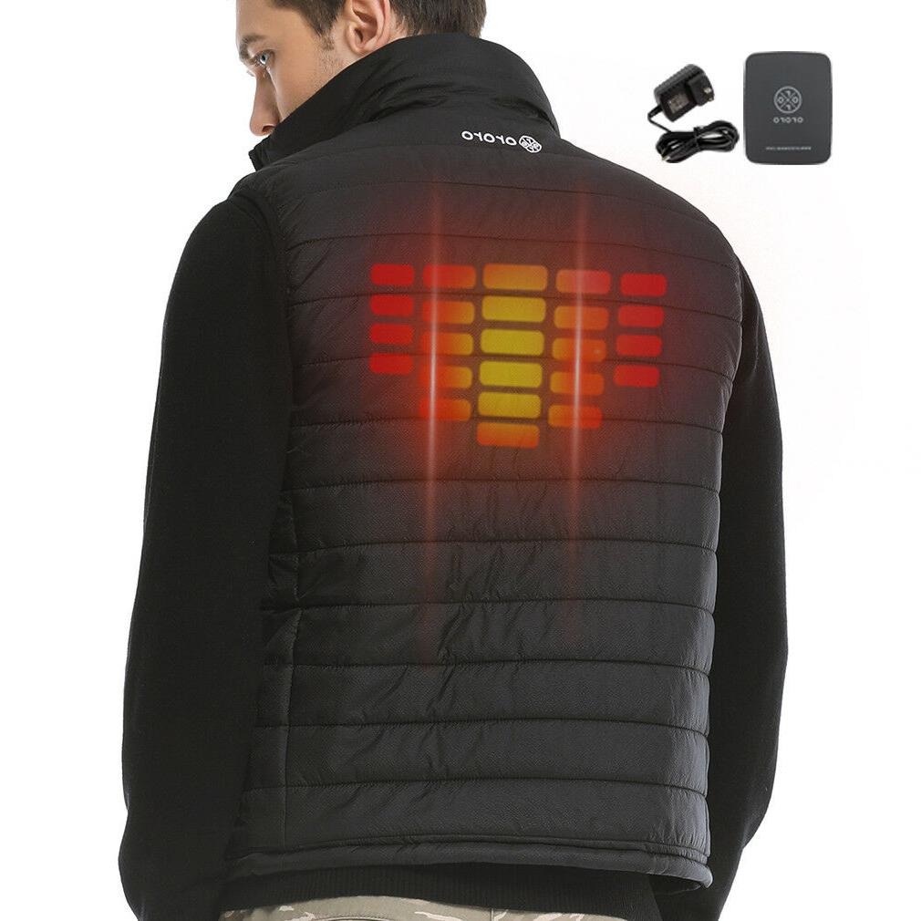 ORORO Heated Vest Hunting Mobile Winter Jackets