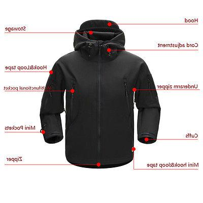 Men Outdoor TAD Coat Soft ESDY