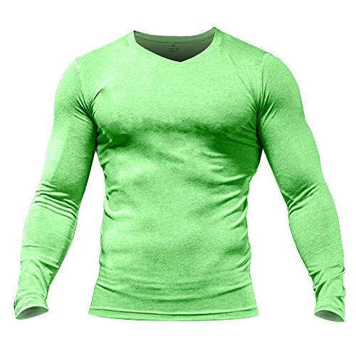 men s bodybuilding long sleeve t shirt