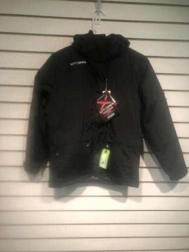 men s gotham insulated jacket black medium