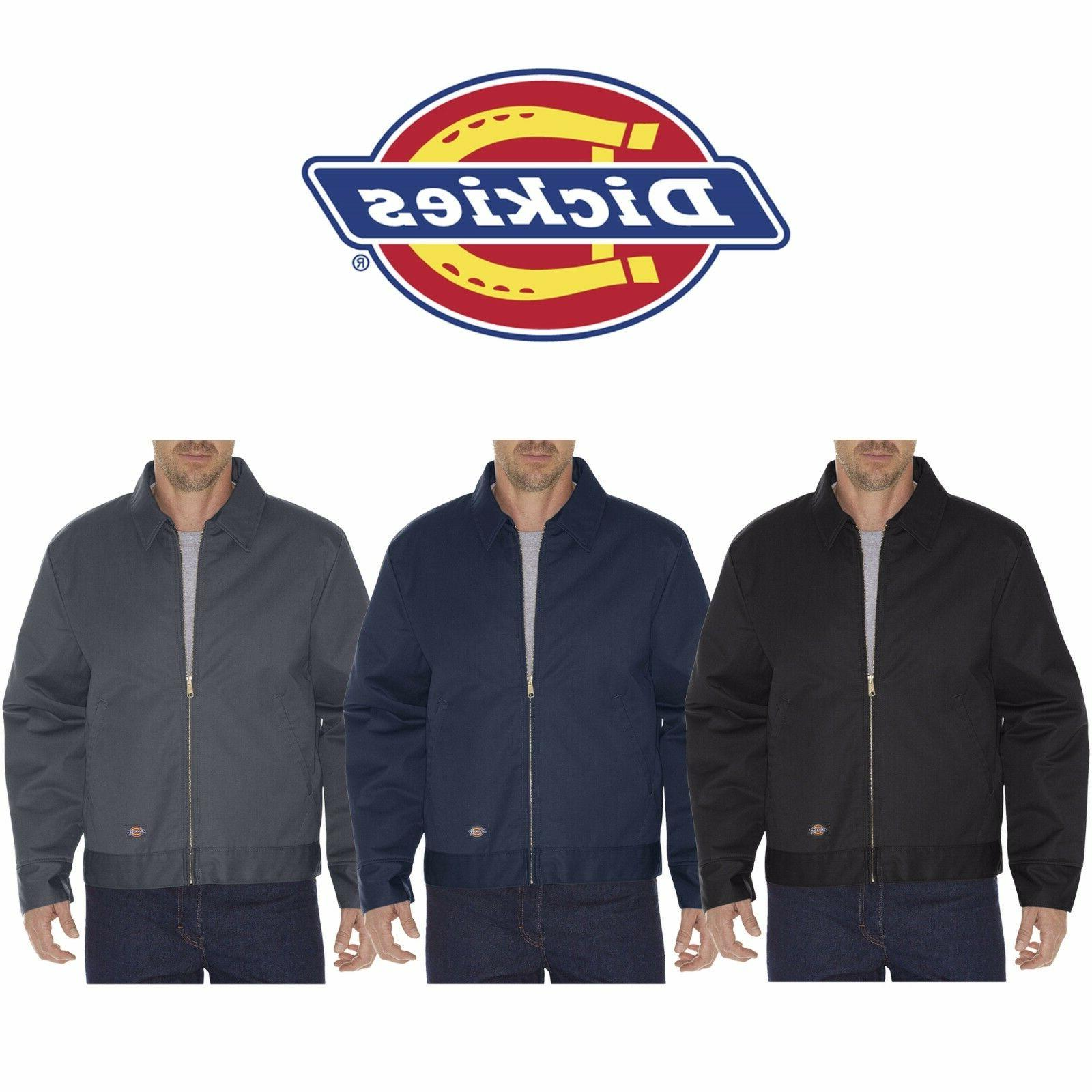 Dickies Men's Insulated Eisenhower Zip Up Work Jacket New TJ