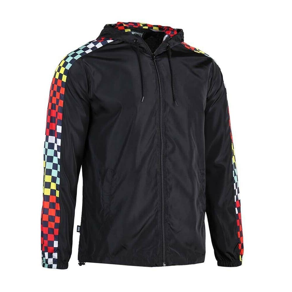 Beautiful Giant Lightweight Windbreaker Rain Front Zipper