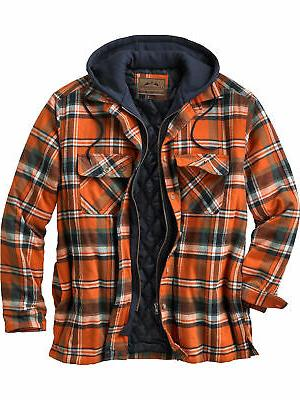men s maplewood hooded shirt jacket