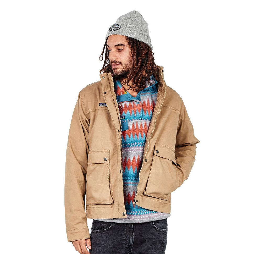 Patagonia Men's Polyester Pile Thermogreen Maple Grove Canva