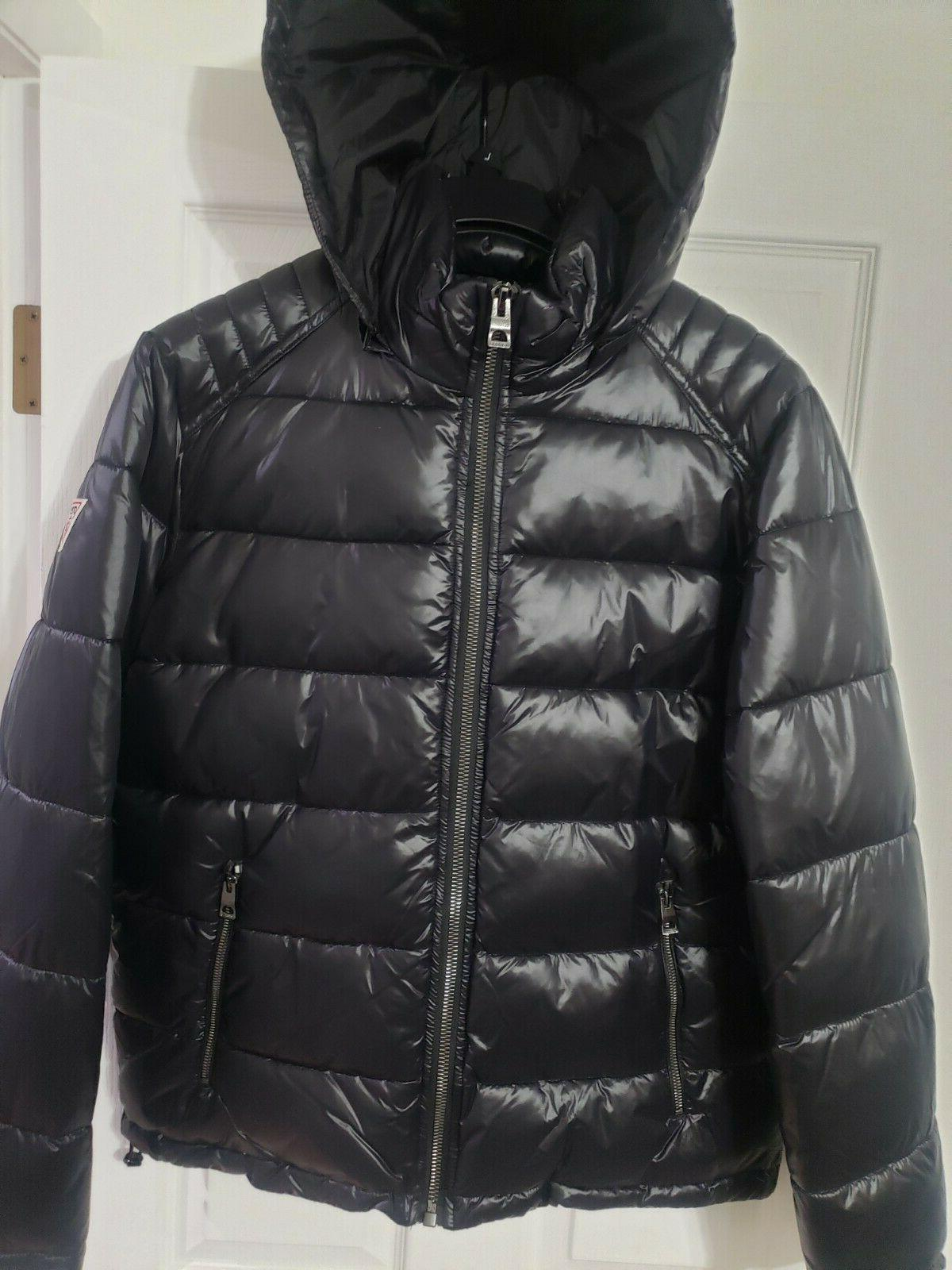 GUESS Puffer Removable Hood NEW Original With Tags