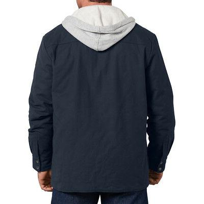 Dickies Relaxed Icon Hooded Duck Quilted Shirt Style TJ203 DN