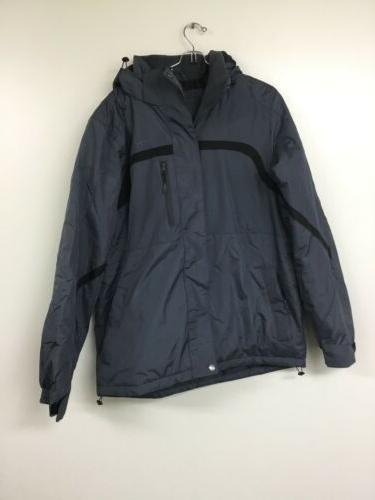 men s satellite insulated jacket large steel