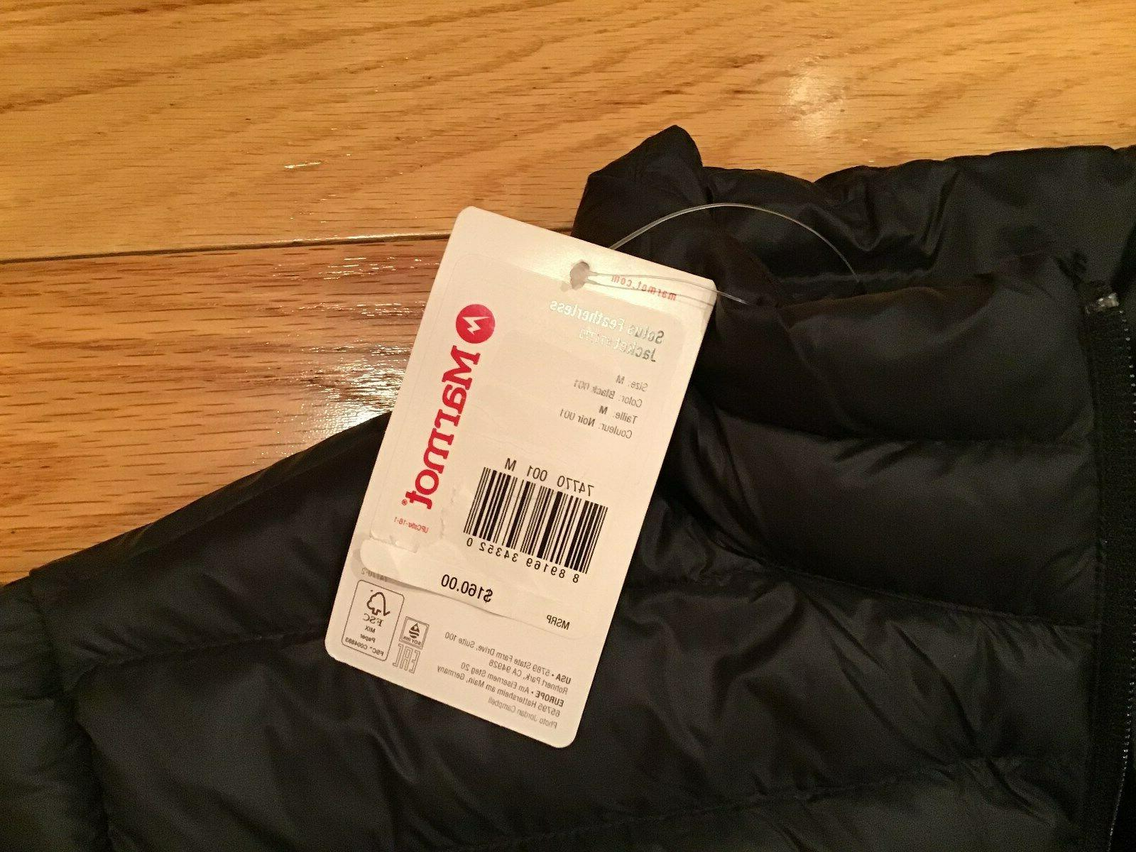 Men's Featherless Puffer Jacket Medium- Tags!
