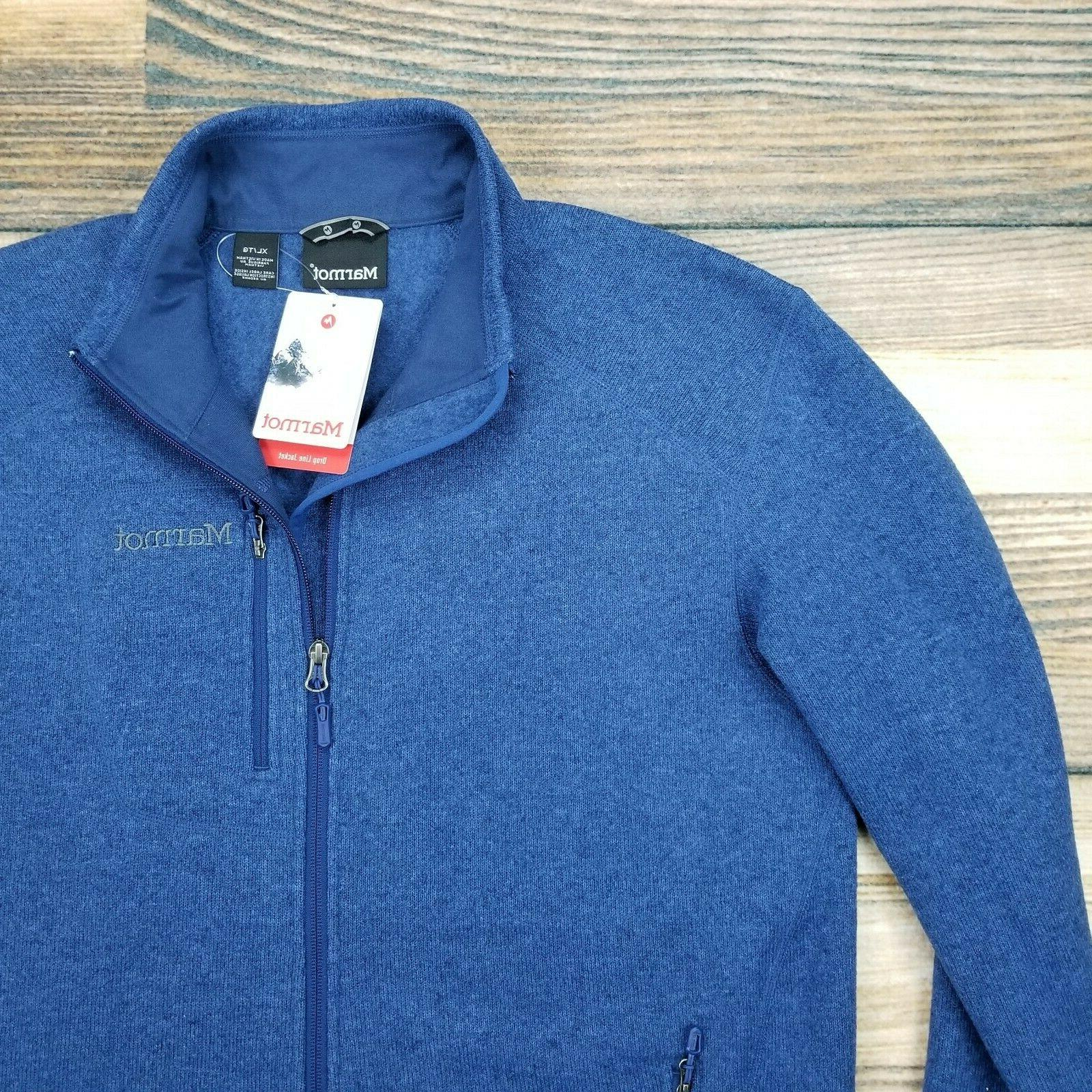Marmot XL Line Full Zip Fleece Jacket