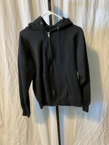 Mens Hanes Up Sweatshirt Jacket Small