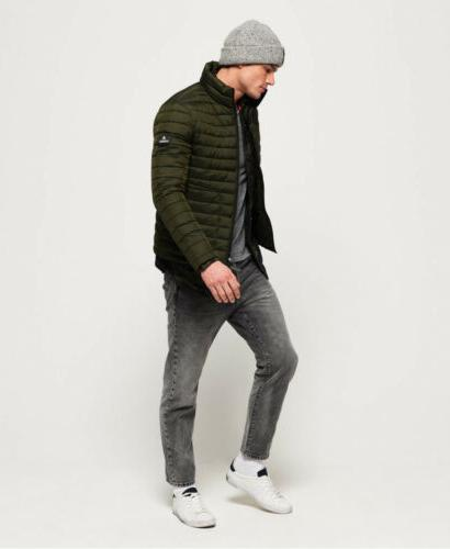 Mens Superdry Zip Jacket