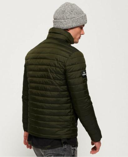 Mens Zip Jacket Olive