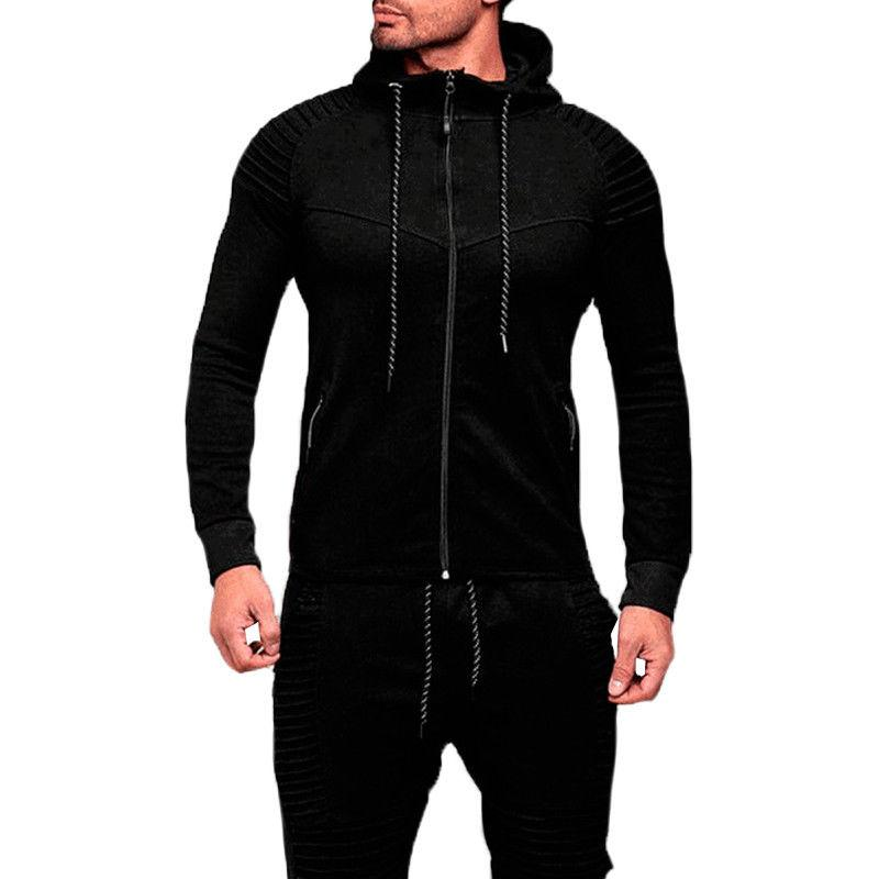 Mens Hoodie Casual Hooded Sweats Without