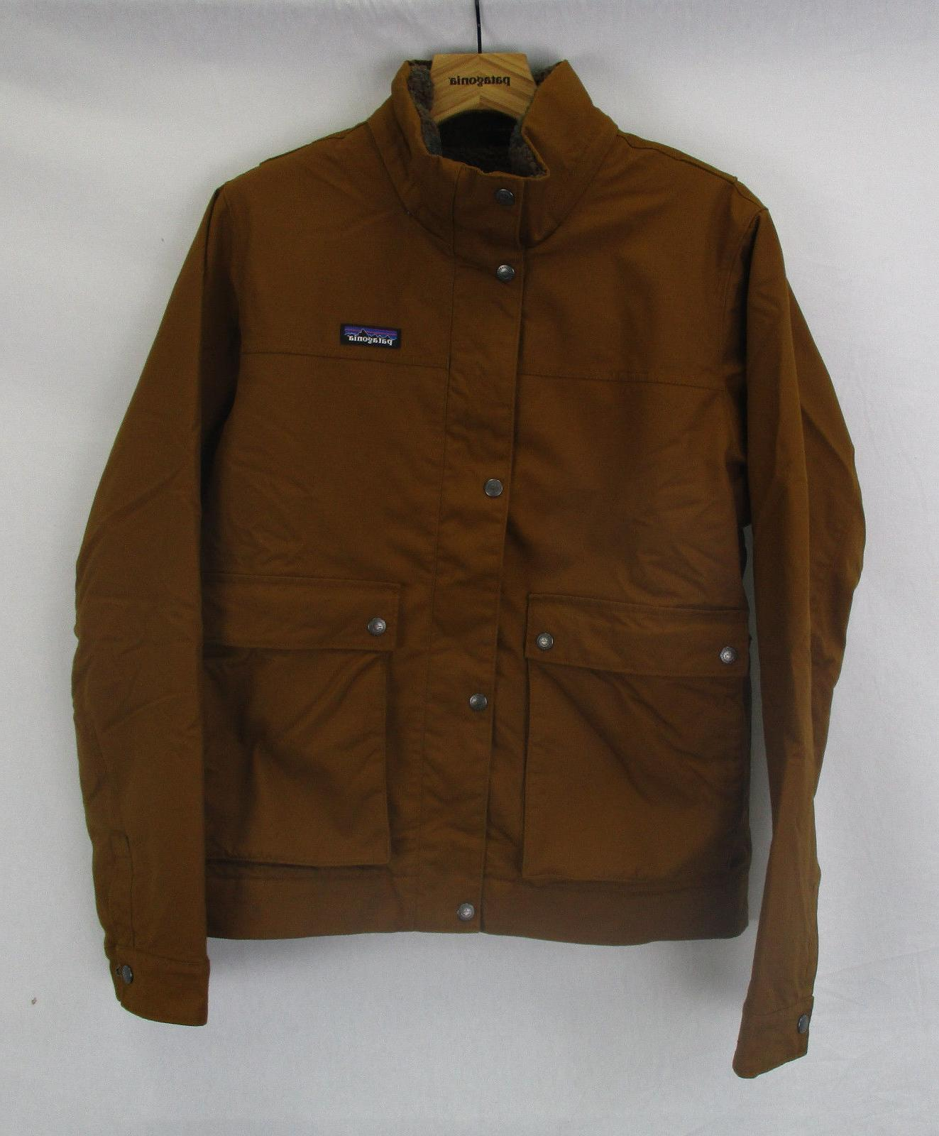 Patagonia Mens Maple Grove Canvas Jacket 26995 Bence Brown S