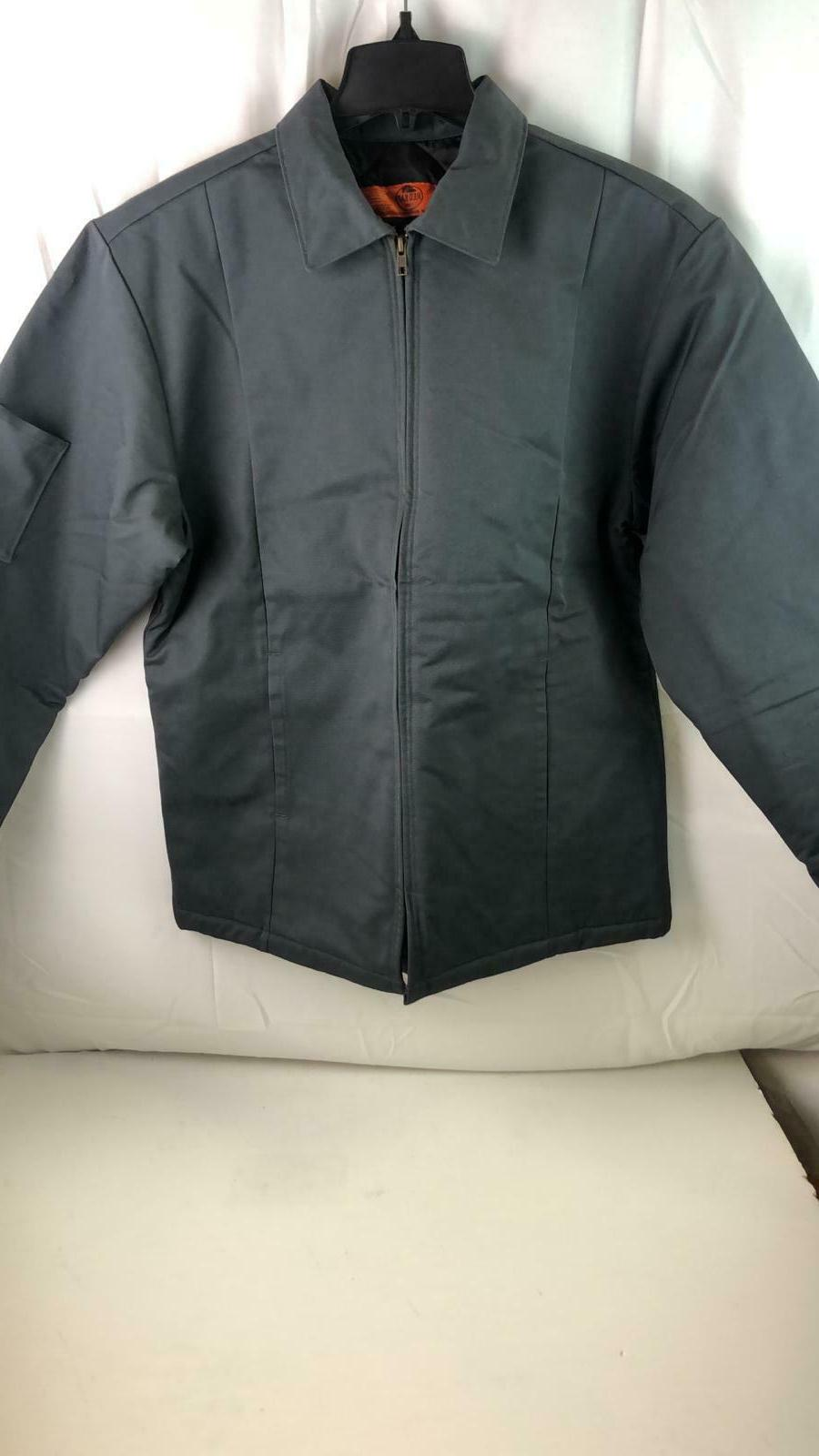 mens perma lined panel jacket size medium