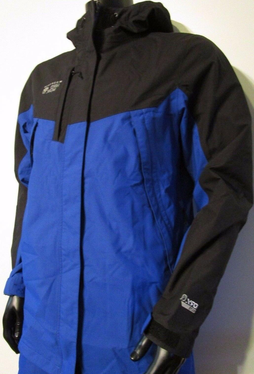 Mens Mountain Hardwear Exposure Hooded Shell Rain Ski Jacket