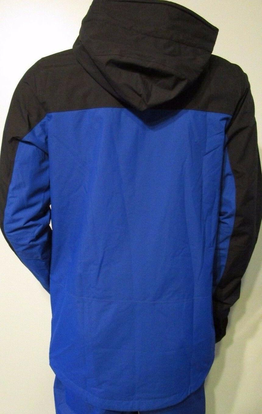 Mens S-M-L-XL-XXL Mountain Exposure Hooded Rain Ski Snow