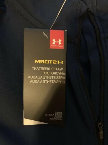 Under Mens Launch Jacket Size Tags