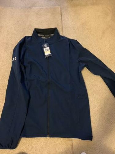 Under Armour Mens Storm Launch Navy Blue Size Medium Tags