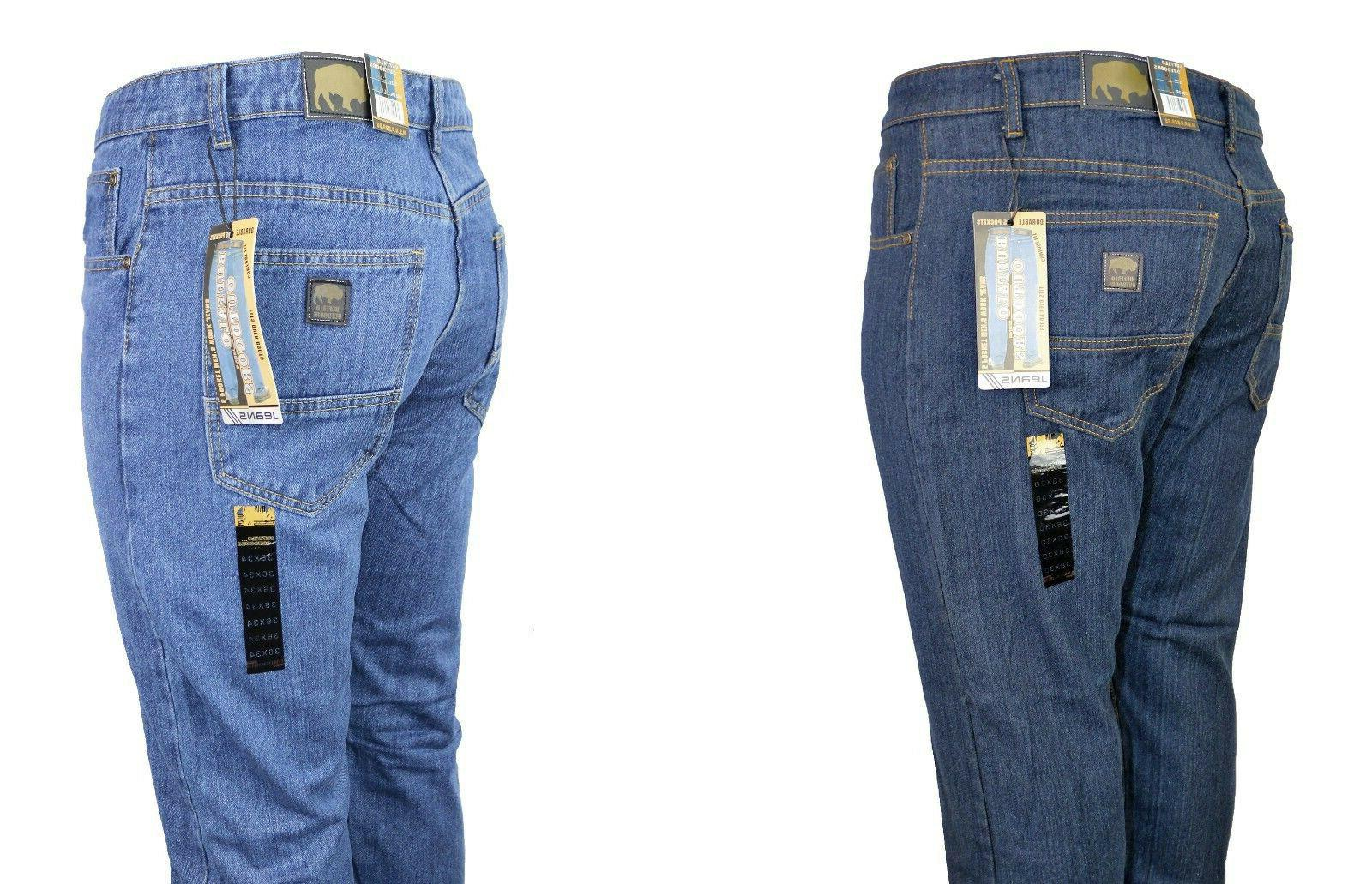 Buffalo Outdoors® Men's Relaxed Fit Work Denim 2017 Style J