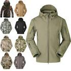 Mens Waterproof Tactical Jacket Coat Soft Shell Fashion Army