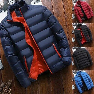 Mens Down Thick Hooded Parka